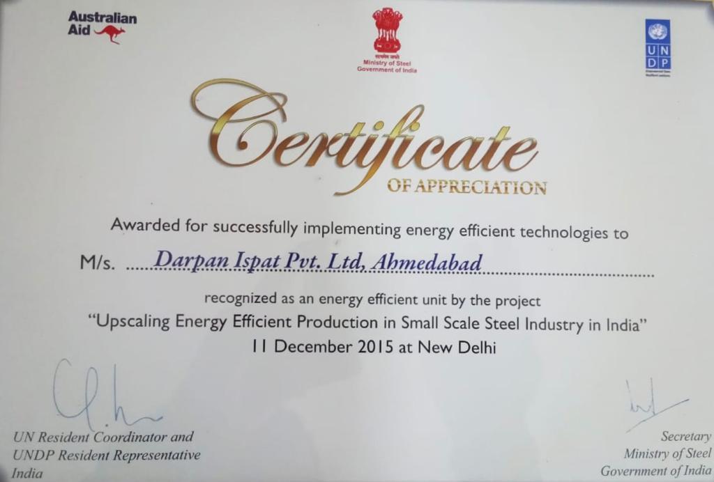 UNDP Certification